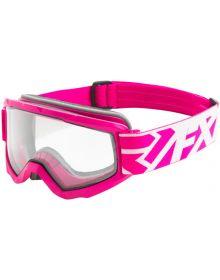 FXR Squadron Snow Goggle Fuchsia