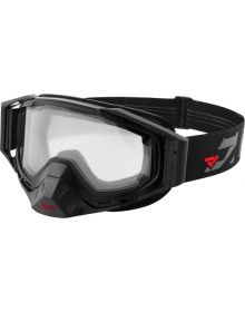 FXR 2018 Core Electric Heated Snow Goggle Black/Charcoal