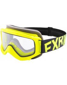 FXR Throttle Youth Goggle Hi Vis/black