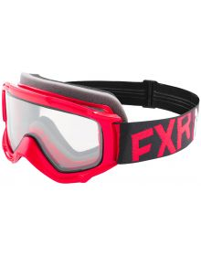 FXR Throttle Youth Goggle Red/Black/White