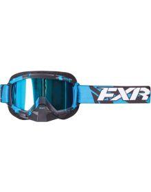 FXR Mission Recon MX Google Blue