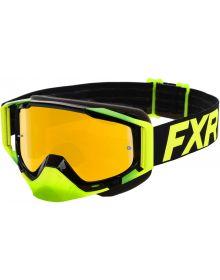 FXR 2020 Core MX Goggle Citrus