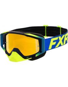 FXR 2020 Core MX Goggle Hi Vis/Blue