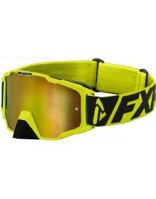 FXR 2020 Maverick MX Goggle Hi Vis
