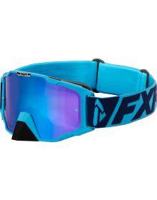 FXR 2020 Maverick MX Goggle Sky Blue/Navy