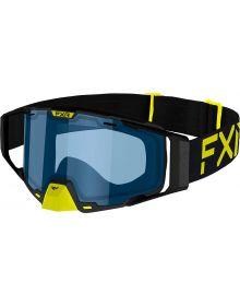 FXR Combat Goggle Hi-Vis/Black