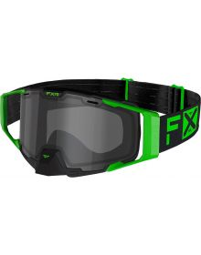 FXR Combat Goggle Lime