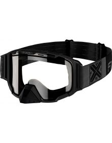 FXR Maverick Cold Stop Goggle Black Ops W/Clear Lens
