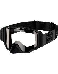 FXR Maverick Goggle Black Ops W/Clear Lens
