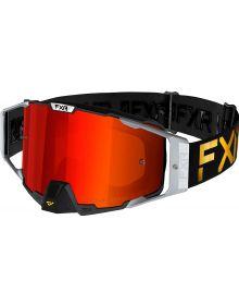 FXR 2021 Pilot LE MX Goggle Podium W/Inferno Lens
