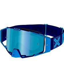 FXR 2021 Pilot MX Goggle Blue W/Ice Lens