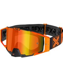 FXR 2021 Pilot MX Goggle Orange W/Orange Lens