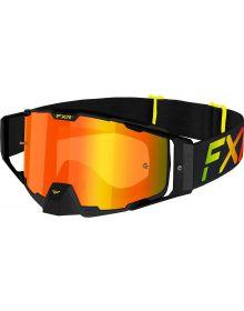 FXR 2021 Combat MX Goggle Sherbert W/Bronze Lens