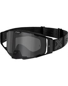 FXR 2021 Combat MX Goggle Black Ops W/Smoke Lens