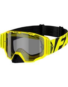 FXR 2021 Combat MX Goggle Hi-Vis W/Smoke Lens
