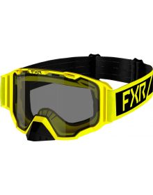 FXR 2022 Maverick Snowmobile Goggles Hi Vis