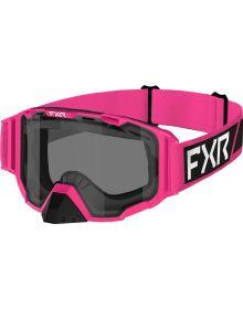 FXR 2022 Maverick Snowmobile Goggles E-Pink