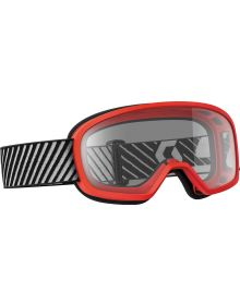 Scott Buzz Youth Goggle Red W/Clear Lens