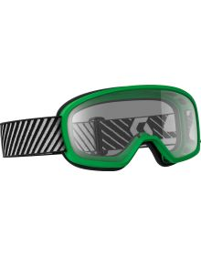 Scott Buzz Youth Goggle Green W/Clear Lens
