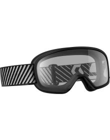 Scott Buzz Youth Goggle Black W/Clear Lens