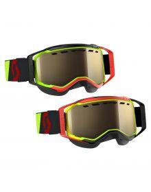 Scott Prospect Snow Goggles Yellow/Red W/Light Sensitive