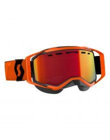 Scott Prospect Snow Goggles Orange/Black W/Red Chrome