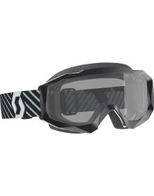 Scott Hustle-X Sand/Dust MX Goggles Black W/Dual Lens