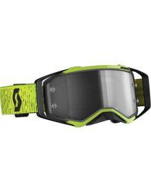 Scott Prospect MX Goggle Black/Yellow W/LT Sens Lens