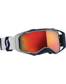 Scott Prospect MX Goggle Grey/White W/Orange Lens