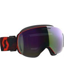 Scott LCG Snow Goggles Red/Blue w/Green Chrome Lens