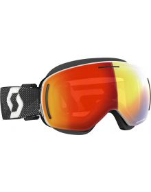 Scott LCG Snow Goggles White/Black w/Red Chrome Lens