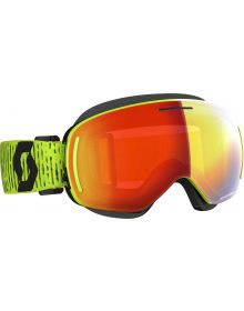 Scott LCG Snow Goggles Yellow w/Red Chrome Lens