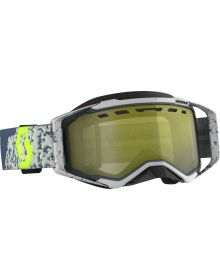 Scott Prospect Snow Goggles Grey/Dark Grey W/Yellow Chrome Lens