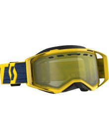 Scott Prospect Snow Goggles Yellow/Yellow W/Yellow Chrome Lens