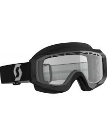 Scott Hustle Snow Goggles Black/Grey W/Clear Lens