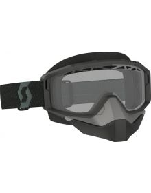 Scott Primal Snow Goggles Black w/Clear Lens