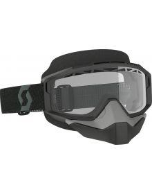 Scott Split Snow Goggles Black w/Clear Lens