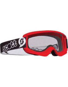 Scott Agent Youth Goggles Red