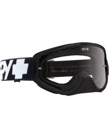 Spy Woot Goggles Black W/Clear Lens