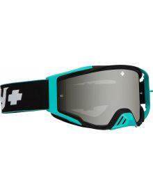 Spy Foundation Plus Goggles Camo Teal w/Silver Mirror