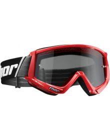 Thor 2020 Combat Sand Goggle Red/Black