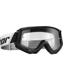 Thor 2020 Combat Solid Youth Goggle Black/White