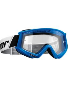 Thor 2020 Combat Solid Youth Goggle Blue/White