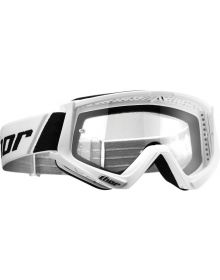 Thor 2020 Combat Solid Youth Goggle White/Black