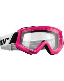 Thor 2020 Combat Youth Goggle Flo Pink