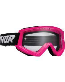 Thor Combat Racer Goggles Pink/Black