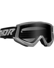 Thor Combat Racer Sand Goggles Gray/Black