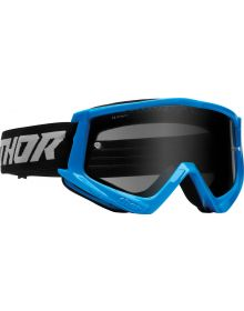 Thor Combat Racer Sand Goggles Blue/Gray