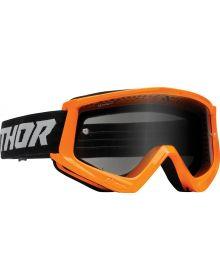 Thor Combat Racer Sand Goggles Orange/Gray