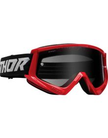 Thor Combat Racer Sand Goggles Red/Gray